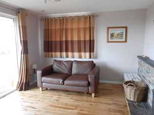 Sofabed in the lounge Tubbs Delight holiday home South Devon